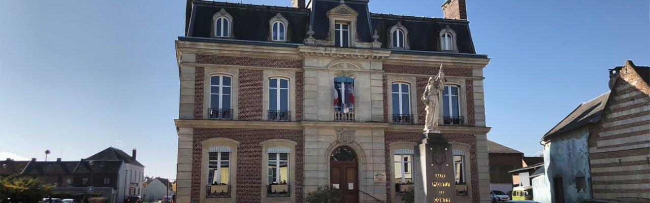 La Mairie de Conty