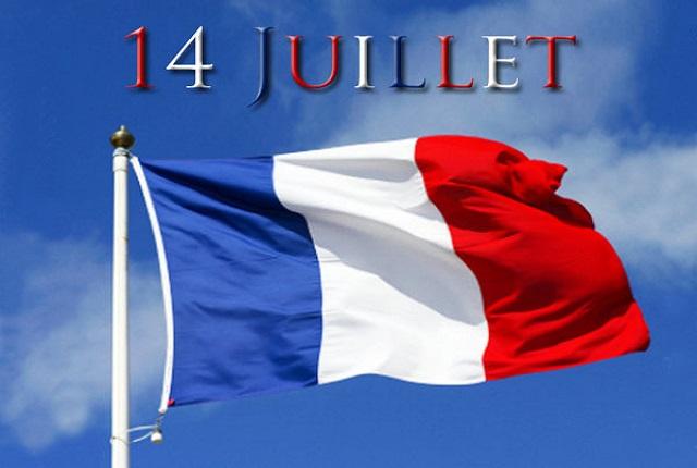 Drapeau français 14 juillet